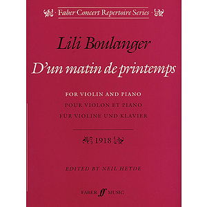 Boulanger /D'un Matin De Printemps