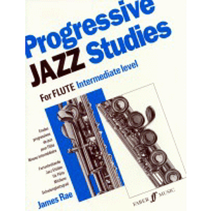 Progressive Jazz Studies for Flute, Book 2