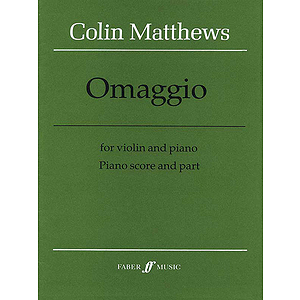Matthews C/Omaggio (Vn/Pf)