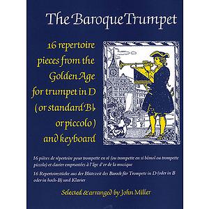 Miller J /Baroque Trumpet Trpt/Pf
