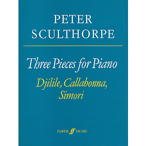 Sculthorpe/3 Pieces for Piano