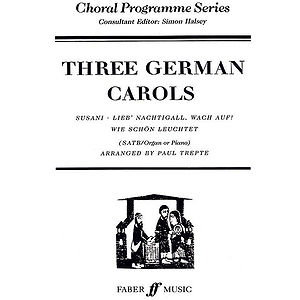 Trepte, Pa/Three German Carols. Sat
