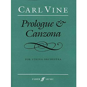 Vine C /Prologue & Canzona (Scor