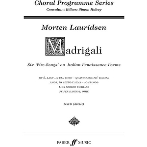 Lauridsen /Madrigali (Cps)