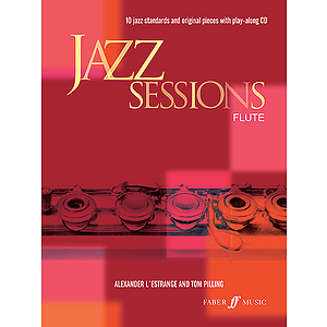 L&#039;estrange/Jazz Sessions (Fl/CD)