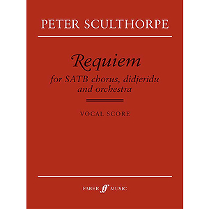 Sculthorpe/Requiem (SATB Vocal Sc)