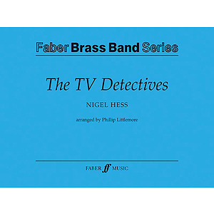 Hess /Tv Detectives(Brass)Set
