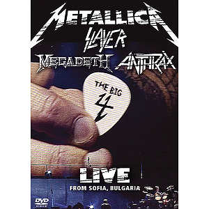 Metallica, Slayer, Megadeth, Anthrax: The Big 4 Live from Sofia, Bulgaria (DVD)
