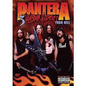 Pantera - 3 Vulgar Videos From Hell - DVD
