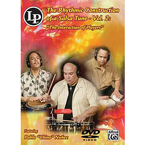 The Rhythmic Construction of a Salsa Tune, Vol. 2 (DVD)