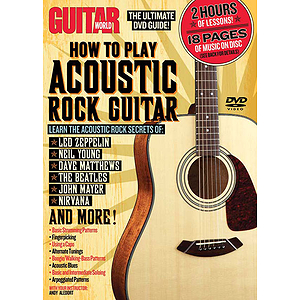 Guitar World: How to Play Acoustic Rock Guitar (DVD)