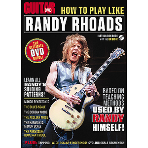 Guitar World: How to Play Like Randy Rhoads (DVD)
