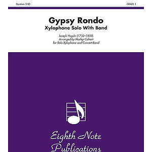 Gypsy Rondo (Solo Xylophone and Concert Band)