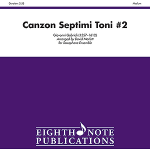 Canzon Septimi Toni No. 2