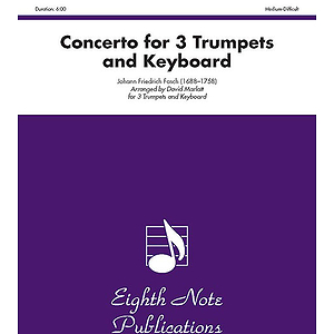 Concerto for Three Trumpets and Keyboard