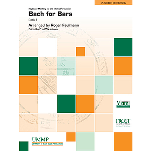 Bach for Bars, Book 1