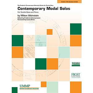 Contemporary Modal Solos