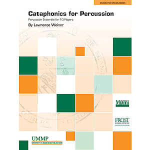 Cataphonics for Percussion