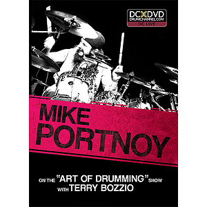 "Mike Portnoy on the ""Art of Drumming"" Show with Terry Bozzio (DVD)"