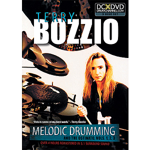 Terry Bozzio: Melodic Drumming and the Ostinato, Volumes 1, 2, 3 (DVD)