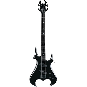 B.C. Rich Zombie Electric Bass Guitar - Onyx
