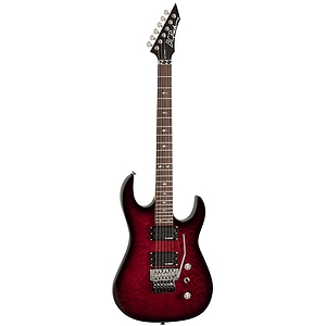 B.C. Rich ASM Standard Electric Guitar, Transparent Black Cherry Burst