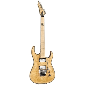 B.C. Rich Zoltan Bathory Signature Assassin Electric Guitar, Natural Quilt Maple w/ Maple Fretboard