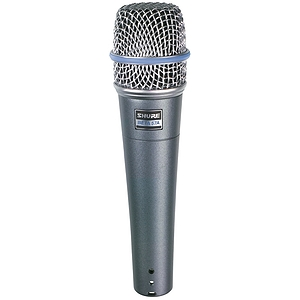 Shure Beta 57 Supercardioid Dynamic Vocal/Instrument Microphone