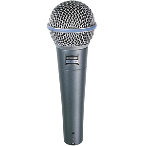 Shure Beta 58 Supercardioid Dynamic Vocal Microphone