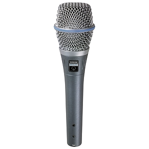 Shure Beta 87 Supercardioid Handheld Vocal Microphone