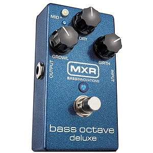 Dunlop MXR Bass Octave Deluxe Effects Pedal
