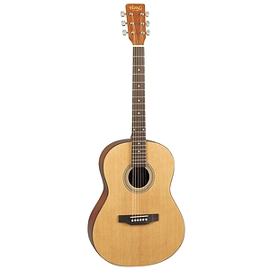"Woods 39"" Steel String Acoustic Guitar"