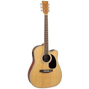 Woods Acoustic-Electric Cutaway Guitar