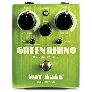 Way Huge Electronics Green Rhino Overdrive Guitar Effects Pedal