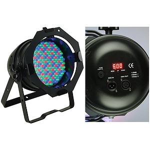 American DJ 64B-LED-PRO BLACK HIGH POWERED LED PAR.