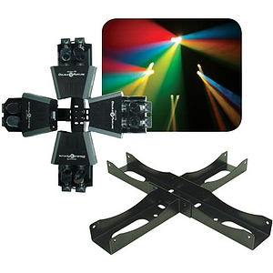 American DJ DF BR4 4-Way Centerpiece Bracket for Double Feature