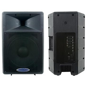 "American Audio DLS-15P 15"" 2-Way Powered Speaker"