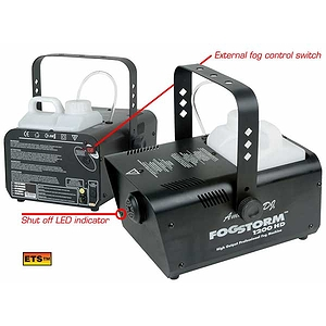 American DJ FOGSTORM-1200HD 1200 Watt High Output Fogger