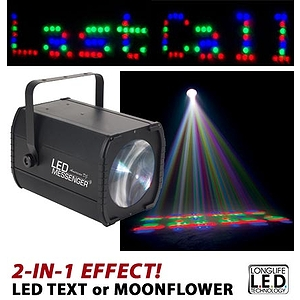 American DJ LED MESSENGER 2-in-1 LED Effect Moonflower/Text
