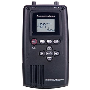 American Audio POCKET-RECORD Digital Pocket Recorder