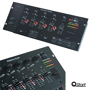 American Audio Q-2411 PRO 4 Channel Mixer