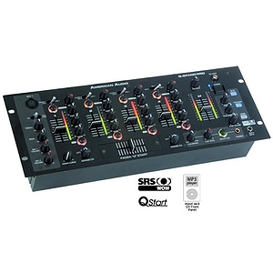 American Audio Q-SPAND PRO Professional 4-Channel DJ Mixer