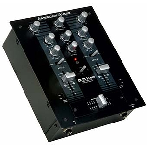 American Audio Q-D1 MKII 2 Channel Mixer