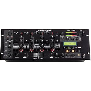 American Audio Q-FX PRO 4-Channel Pro DJ Mixer
