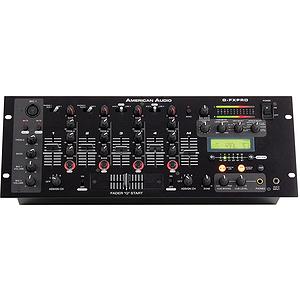 American Audio Q-FX PRO 4-Channel Pro DJ Mixer