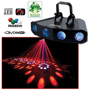American DJ QUAD GEM DMX 4-Way LED Moonflower Effect