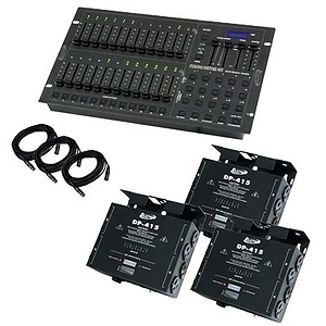 American DJ STAGE PAK 2 - Controller/Dimmer System