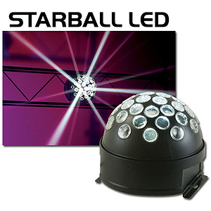 American DJ STARBALL LED - 3W White LED Dome Effect