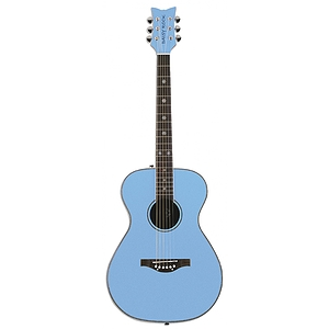Daisy Rock Pixie Series Acoustic Guitar - Sky Blue