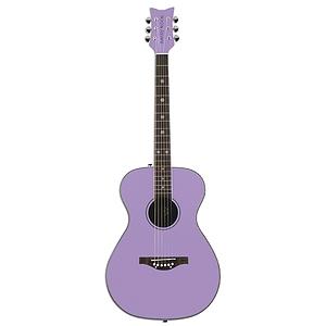 Daisy Rock Pixie Acoustic Guitar - Pixie Purple